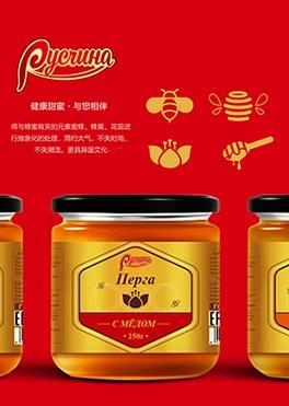 靖婷蜂蜜包装设计提案