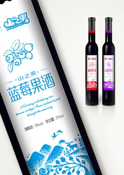 哈尔滨红酒包装设计